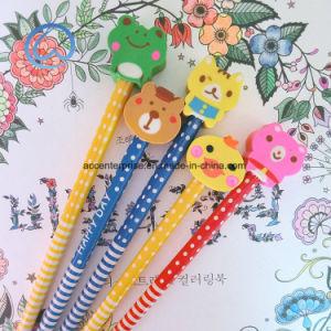 Hb Cartoon Eraser Pencil pictures & photos