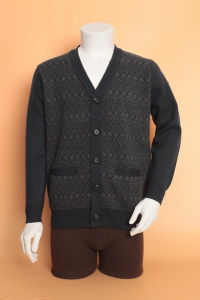 Yak Wool Cardigan Garment/Cashmere Clothing/Knitwear/Fabric/Wool Textile pictures & photos