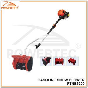 Powertec 1700W 52cc Gasoline Mini Snow Blower (PTNB5200) pictures & photos