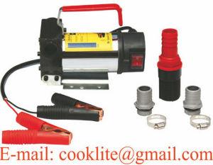 12/24V DC Electric Oil Diesel Fuel Transfer Pump / Diesel Fuel Dispenser - 175W 45L/Min pictures & photos