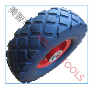 300-4 PU Foam Wheel; Puntureproof Tire; Tool Cart Wheel pictures & photos