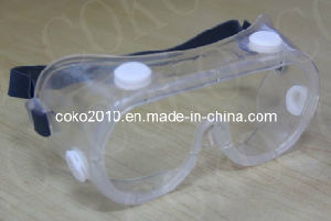 PC Lens Safety Goggles with Valves pictures & photos