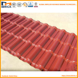 880mm New Type PVC/Asa/PMMA Synthetic Resin Tiles Roofing Machine Sc 1 St  Shaanxi Ibrick Technology Company Limited