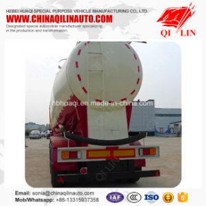 Qilin Good Quality Low Density Powder Material Transport Tanker Truck Semi Trailer pictures & photos