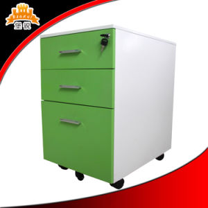 Office Furniture White Steel Mobile File Cabient with Locking Door pictures & photos