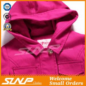 Fashion Design Spring Kids Girl Coat for Children′s Clothing
