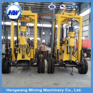 Trailer Mounted Water Well Drilling Rig Mobile Drilling Machine Price pictures & photos