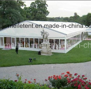 Luxurious Aluminum Marquee Glass Wall Outdoor Ridge Tents for Sale pictures & photos