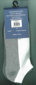 Men Women Cotton Sports Socks with Half Cushion (CS-06) pictures & photos