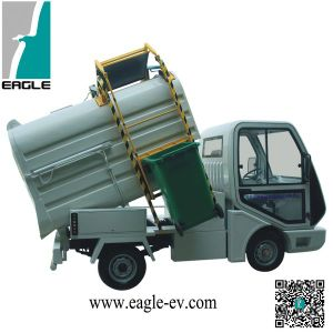 Electric Garbage Trucks, Sealed Rear Box for Liquid Waste, Eg6042xa1 pictures & photos
