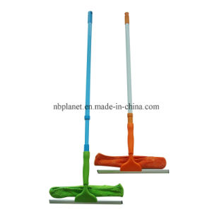 Telescopic Window Wiper with Squeegee & Microfiber Cleaner pictures & photos