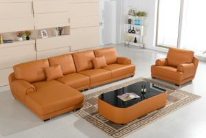 Modern Design L Shape Coner Sofa pictures & photos