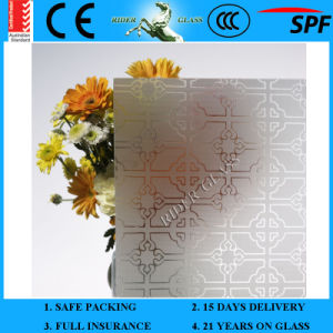4mm-12mm Decorative Acid Etched Frosted/Art Architectural Glass pictures & photos