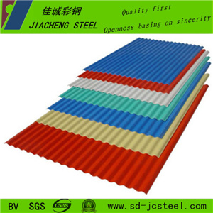 China Good Quality Color Coated Steel Coil for Corregated Sheet pictures & photos