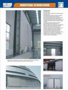 Heavy Duty Industrial Sliding Door pictures & photos