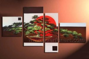 Amazing Artwork Handmade Landscape Oil Painting for Decor (LA4-042) pictures & photos