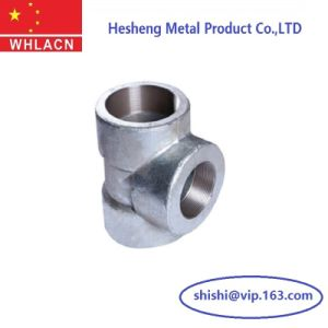 Investment Casting Equal Sanitary 3 Way Elbow Fitting Connection pictures & photos
