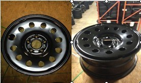 17X7 Winter Steel Wheel for Jeep Wheel pictures & photos