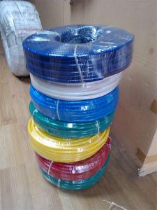 High Standard Pollution-Free PVC Rainbow Hose Fiber Braid PVC Hose pictures & photos