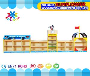 Mickey Modeling Toys Rack, Wooden Toy Cupboard, House Modeling Toys Rack (XYH12132-1)