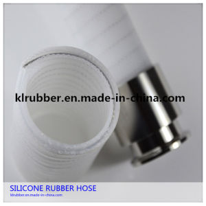 Platinum Cured Food Grade Polyester Braid Silicone Hose pictures & photos