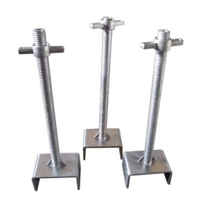 Construction Scaffold Adjustable Screw Base Jack pictures & photos