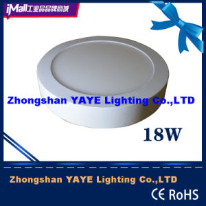 Yaye Factory Price 18W Round Surface Mounted LED Panel Light with 2/3years Warranty pictures & photos