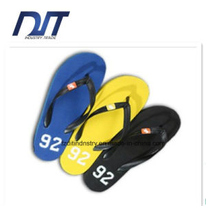 Custom Logo Printed Sublimation Flip Flops Beach Shoes pictures & photos