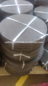 304 Filter Meshes/Black Wire Cloth/Stainless Steel Filter Mesh Disc pictures & photos