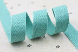 Wholesale 100% Cotton Herringbone Cotton Ribbon