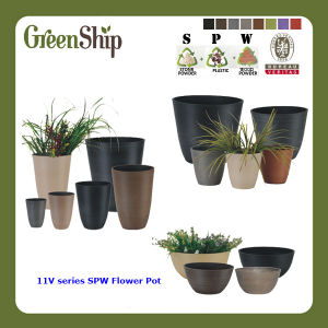 Eco-Friendly Spw Gardening Round Flower Pot/ Flower Planter (11V Series)