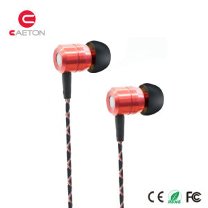 Stylish Metal Wired Earbud Rubber Girls Earphone pictures & photos