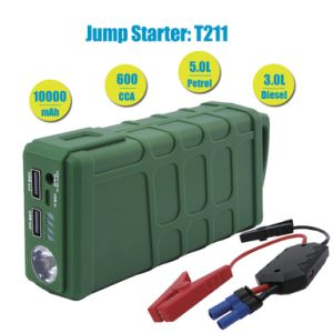 10000mAh High Capacity Auto Power Booster for 12V Vehicle pictures & photos