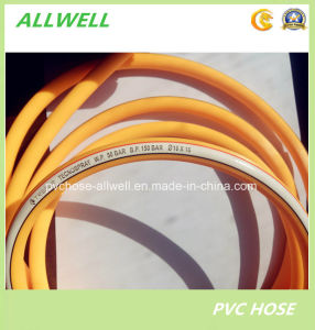 Plastic PVC Yellow Color Spray High Pressure Hose 8.5mm pictures & photos