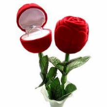 Rose Ring Box for Valentine′s Day (MX-292) pictures & photos