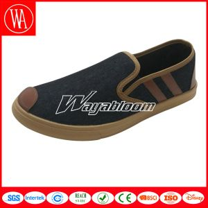 Flat Plain Leisure Shoes Wome/Men Canvas Casual Shoes pictures & photos