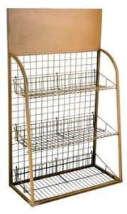 Shoe Rack Wire Display Rack pictures & photos