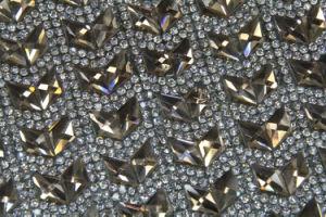 10*10mm Jelly Color Glass Hot Fix Rhinestone Sticker (chen-a-100)