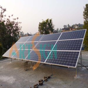 Solar Ground Mount-Terrace Ground Racking Structure pictures & photos