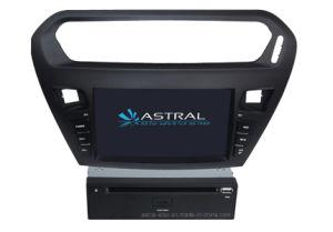 Car DVD Multimedia Player for Peugeot 301 Support GPS Glonass Navigation (AST-8041)