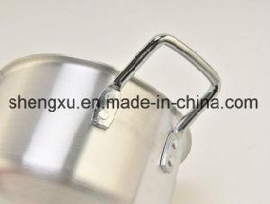 Non-Stick Ceramic Coated Aluminum Sauce Pot Energy-Saving Pot Cookware Sets Sx-A003 pictures & photos