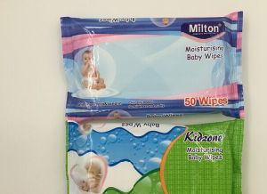 50PCS Alcohol Free Spunlace Nonwoven Baby Wet Wipes pictures & photos