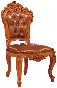 Indoor Teak Wood Dining Chair (CT-A12)