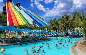 Hot Summer Enjoyable Giant Fiberglass Water Slide pictures & photos