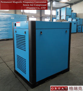 High Efficient Air Cooling Way Twin Screw Air Compressor pictures & photos