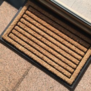 Entry Doorways Front Door Patio Porch Welcome Home Gardening Decoration Scraper Rugs Carpets Coco Coir Coconut Fiber Doormats pictures & photos