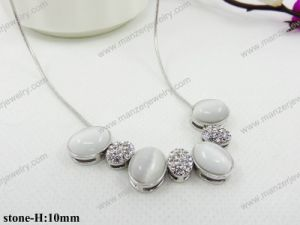 Star Shiny Stone Casting Short Fashion Jewelry Necklace for Woman