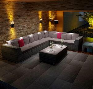 Rattan Outdoor Furniture Outdoor Wicker Furniture Rattan Sofa S230# pictures & photos