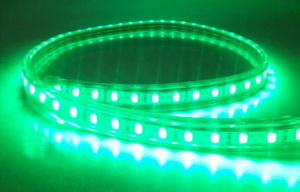 Underwater Green 5050SMD 60LEDs IP68 LED Strip 12V DC in Warm White 2800k - 3200k pictures & photos