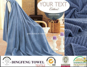 100% Cotton Color Strip Soft Bath Towel Df-3673 pictures & photos